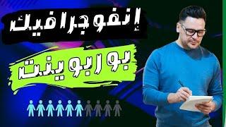 شرح عمل إنفوجرافيك بوربوينت متحرك إحترافى Aniamted Powerpoint Design