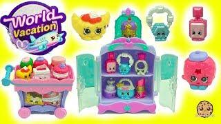 Shopkins Season 8 World Vacation Petite Sweets + Precious Jewels Exclusive Playsets