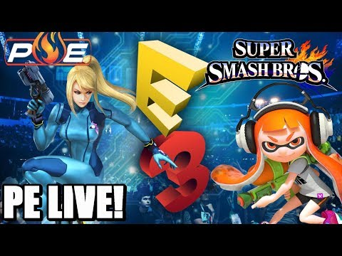 Road to E3 2018 Day 9! New Switch SKU's at GameStop! | Splatoon 2 | Smash Switch | Q&A! | PE LIVE!
