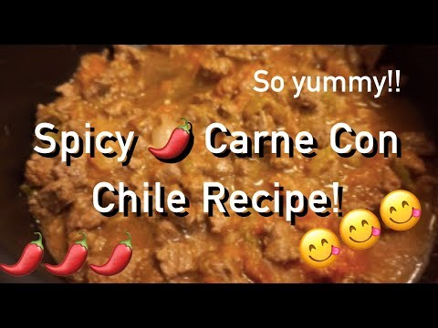 Easy Carne Con Chile Recipe