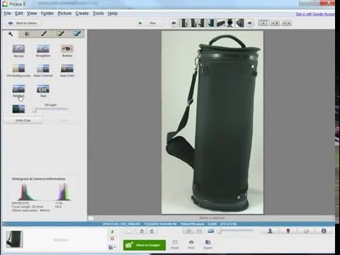 How to remove the background from a photo in 15 seconds using Picasa