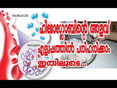 How to  increasing Hemoglobin Treatment /ഹീമോഗ്ലോബിന് കുറഞ്ഞുപോയാല്