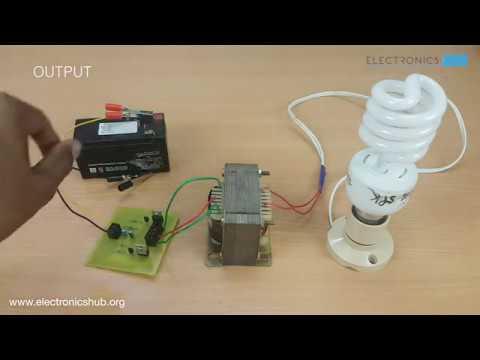 How To Make An Inverter 12V to 220V? (Updated)