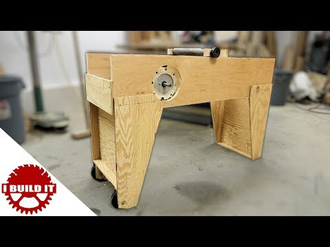 Making A Stand For My Homemade Jointer