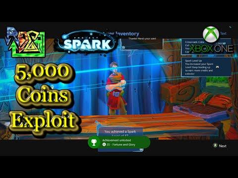 5000 Coins Exploit - Project Spark