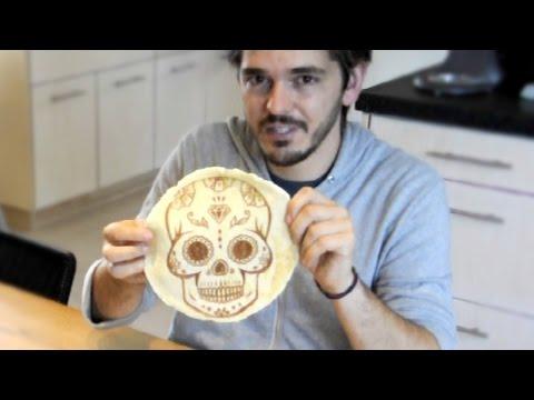 Screenprinting Pancakes