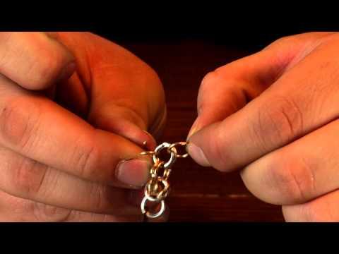 How To Make Jewelry - Byzantine Chain Weave
