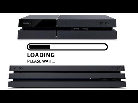 Loading Times PS4 vs. PS Pro