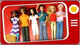 Coleção High School Musical 2 -  Disney Dolls
