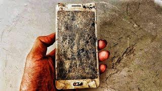 Restoration SAMSUNG smartphone | 6-year-old smartphone restore destroyed