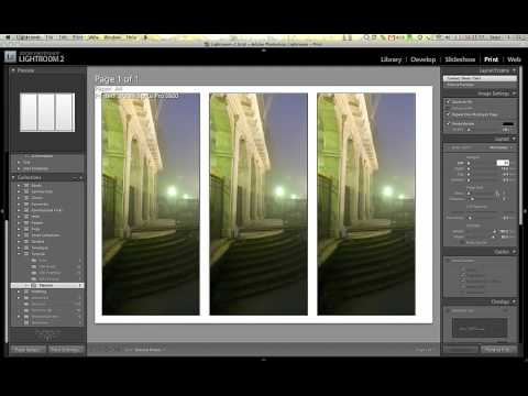 Creating a Triptych from 1 Photo in Lightroom
