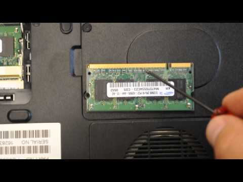 How to remove hard drive from Toshiba Satellite M65 S9092 RAM Laptop