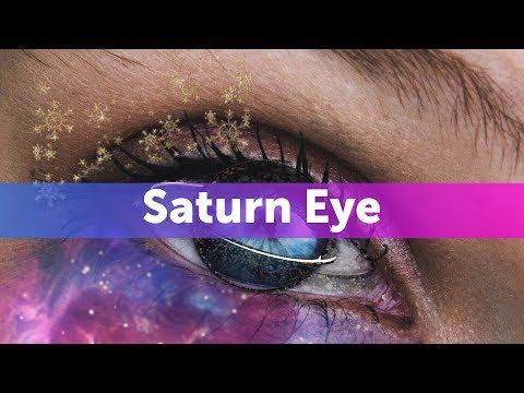 How to Create a Saturn Eye Edit with PicsArt Stickers