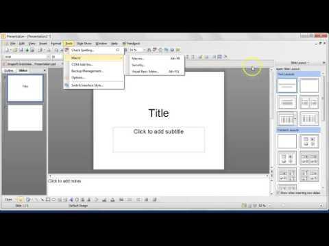 Kingsoft Presentation Tutorial