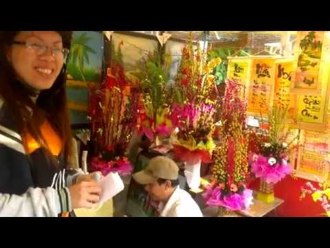 Vietnamese Tet New Years Tradition in Saigon