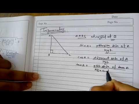 basic trigonomatry