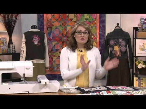 Absolute Beginner Machine Embroidery - Episode 7 Preview - Applique Designs