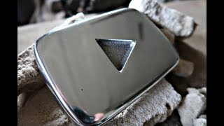 Casting my own silver/aluminum PLAY BUTTON
