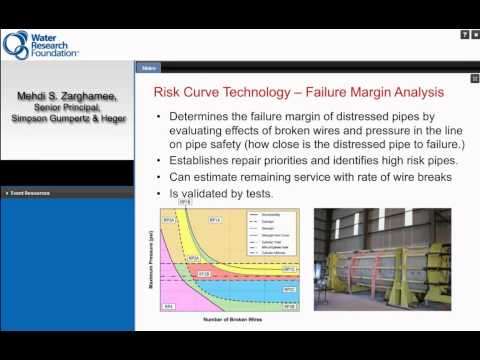 WRF Webcast: Best Practices for Prestressed Concrete Cylinder Pipe Condition Assessment