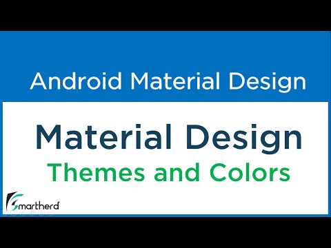 #2.2 Diving into Material Design Themes and Colors