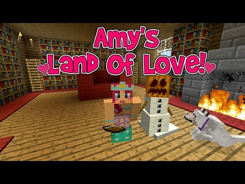 Amy's Land Of Love! Ep.152 The Library! | Amy Lee33