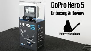 GoPro Hero 5 Unboxing & Review - Great Camera for Musicians