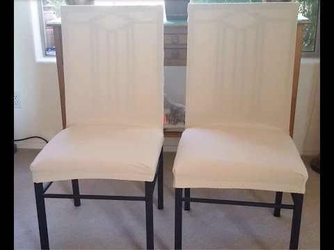 SUBRTEX DINING ROOM CHAIR SLIP ON REMOVABLE COVERS