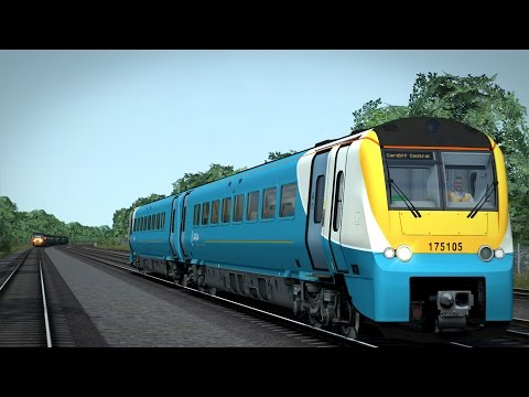 (LIVE FR) TRAIN SIMULATOR 2017 | BRISTOL TEMPLE MEADS - CARDIFF CENTRAL