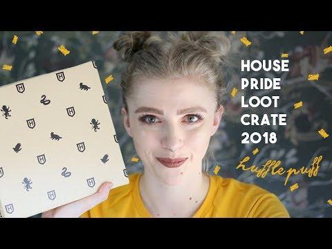 HUFFLEPUFF House Pride 2018 ϟ WIZARDING WORLD Loot Crate
