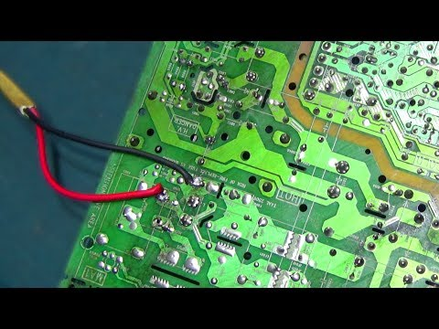 How To Repair Power Problem Of Singer Television (Part 12) - Step By Step