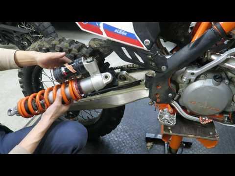 KTM PDS rear shock heim joint bearing replacement
