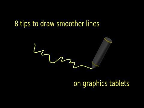 Krita: 8 Tips Drawing Smooth Lines