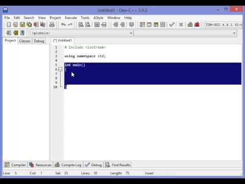 HOW TO CREATE A HELLO WORLD APPLICATION IN C PLUS PLUS