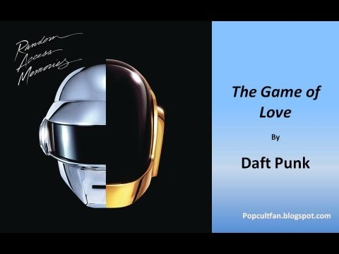 Daft Punk - The Game of Love (Lyrics)