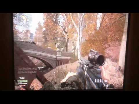 EPIC ACOG Snipe on MW3