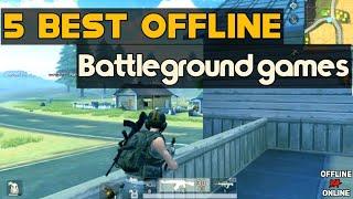 Best offline battleground games for android ||