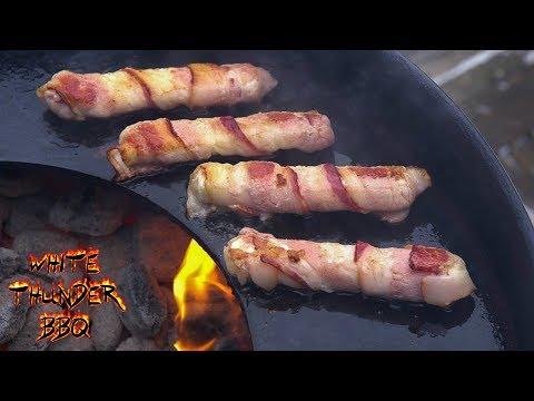 Bacon Wrapped Mozzarella on the Arteflame