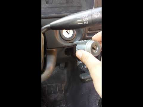 92 toyota pickup ignition cylinder
