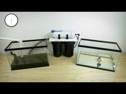 MUDDY WATER TO CLEAR WATER - Ideal H20 Filter Test