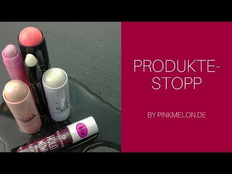 Dewy Skin Look mit Drogerie Produkten im pinkmelon de Produkte Stopp
