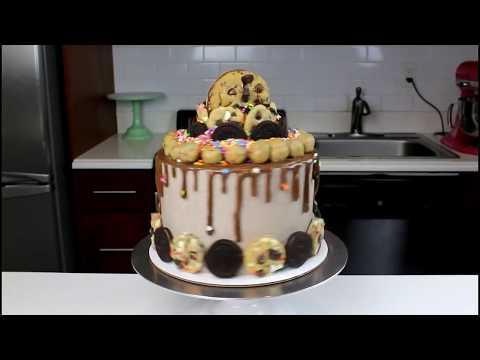 Nutella Oreo Birthday Cake | CHELSWEETS