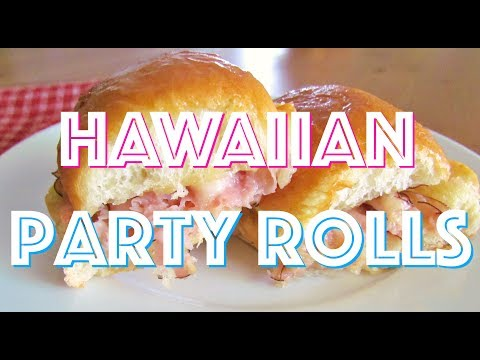 How to make: Hawaiian Ham & Cheese Party Rolls