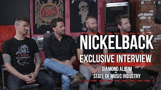 Nickelback on Whether the Music Industry Can Fix Declining Album Sales