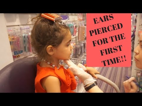 WE TAKE AVA TO GET HER EARS PIERCED!! I AllInTheFoleyFamily