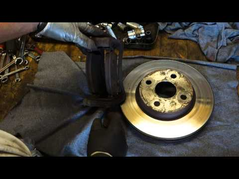 How to repair screaming and bad sound brakes in car or truck