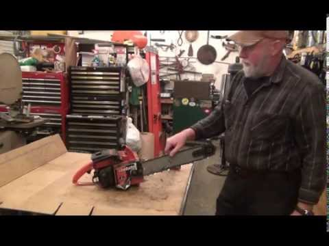 Make your own chainsaw chain from bulk chain. Break and spin!
