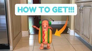 How to get dancing hotdog Snapchat filter!