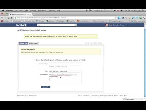 Uploading Videos to Facebook Business Page