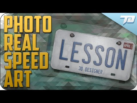 Photo Real Speed Art With the Quixel Suite and Maya   PATREON DETAILS