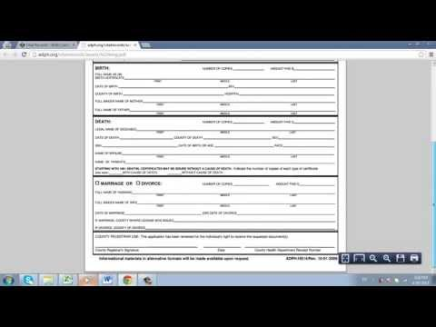 How to Order Birth or Death Certificates Online